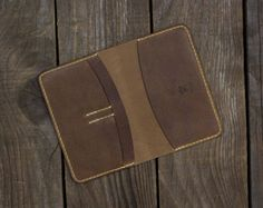 Notebook wallet, Leather Notebook Cover, Moleskine Wallet, Field Notes Wallet,Journal, Full grain leather, Natural,Notebook included