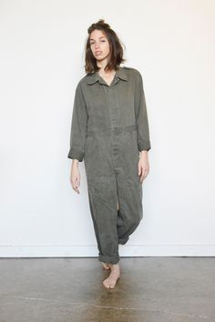 vintage 60s coveralls by #shopfuture #etsy #vintageworkwear #vintage #coveralls #shopvintage