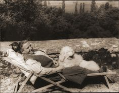 Gertrude Stein and her dogs