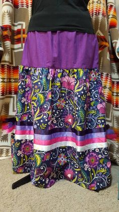 Native Ribbon Skirt by Feral Fawn