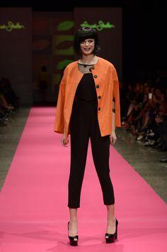 Annah Stretton New Zealand Fashion Week 2014 All Is Pretty Pop Art  Photo Credit Brad Hicks