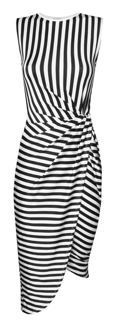 WALG KNOT TIE STRIPE DRESS | WALG PARTY DRESSES