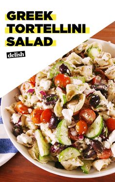 Greek Tortellini Salad Is The Dish To Bring To Every Summer HangDelish