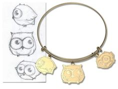 #owl #jewelry #customjewelry #custom  Dream, Design, Create @ www.jewerlyudesign.com
