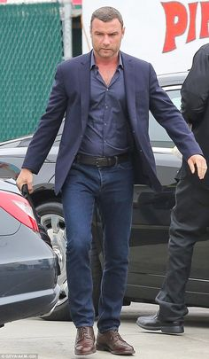 Can we fix it? Liev Schreiber was spotted back at work on his hit show Ray Donovan on Mond...