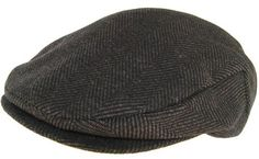 Scala Wool Tweed Ivy Scally Cap Chocolate Brown Herringbone Winter Fitted Flat  Hat Irish Hat 7ba1886585c92