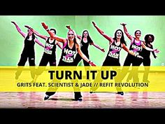 """""""One Girl (Can Change the World) Dance Workout Videos, Workout Songs, Fun Workouts, Dance Workouts, Dance Fitness, Zumba Fitness, Refit Revolution, Country Line Dancing, Zumba Routines"""
