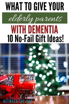 Gift giving is hard especially when your loved one has Dementia. Use these 10 aw… Gift giving is hard especially when your loved one has Dementia. Use these 10 awesome gift ideas to make the holiday season special for your elderly parent or loved one. Dementia Care, Alzheimer's And Dementia, Dementia Crafts, Vascular Dementia, Alzheimer Care, Gifts For Elderly Women, Gifts For Seniors Citizens, Dealing With Dementia, Elderly Activities