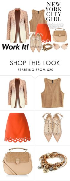 """""""big ombre"""" by zozanazozane ❤ liked on Polyvore featuring Missoni, Carven, Valentino, Accessorize, Lizzy James and Linda Farrow"""