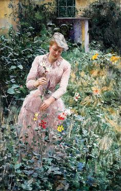 "Claus Emile - In Garden Sotheby  (from <a href=""http://www.oldpainters.org/picture.php?/50351/category/16332""></a>)"