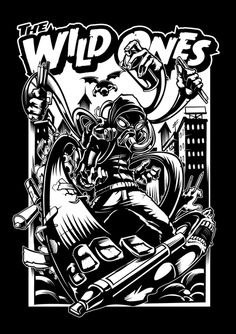 The Wild Ones™ Apparel by Dayne Henry Jr, via Behance Graffiti Characters, Hip Hop Art, Graffiti Lettering, Wild Ones, Street Art Graffiti, Cartoon Art, Doodle Art, Les Oeuvres, Graphic Illustration