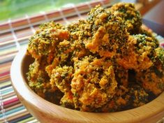 Dried Broccoli Chips by Apron Strings Blog