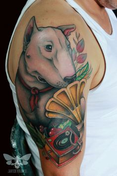 tattoos with bull terriers jess pearl pearl liu schanilec ok fiiiiiiiine im pinning this. Black Bedroom Furniture Sets. Home Design Ideas
