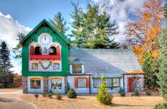 The Santa House - Midland, MI.  My parents took us here when we were little!