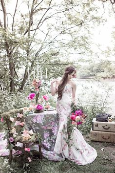 Flower-Filled Woodland Wedding Inspiration   Cristina Rossi Photography   Bridal Musings Wedding Blog 20