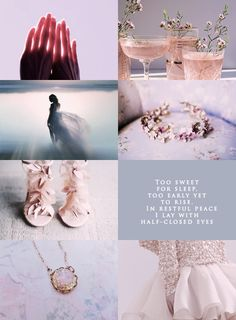 """Courts of Prythian aesthetic: """"Dawn Court """""""