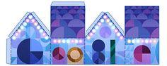 ¡Felices Fiestas! Nuestro #Doodle de hoy te permite escoger entre 4 diseños de…