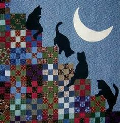 Quilt Inspiration: The Best of Cat Quilts! Part Three
