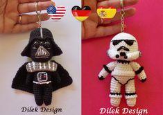 Amigurumi Crochet Pattern  Star Wars  Darth Vader  by DilekDesign