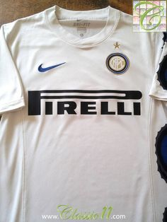 d600fb35f5 Relive Internazionale s 2010 2011 season with this vintage Nike away  football shirt. Milan Football