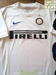 cbc9eb5ae 2010 11 Internazionale Away Football Shirt (XL). Milan FootballClub World  CupVintage NikeFootball ShirtsChampions LeagueFifaSoccerHs ...