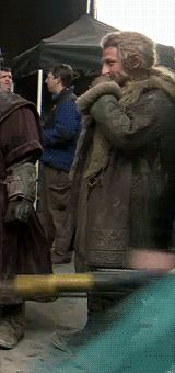 "the-hobbit: "" Behind the Scenes: Dean O' Gorman "" Lotr Movies, The Hobbit Movies, O Hobbit, Rr Tolkien, Tolkien Books, Thranduil, Legolas, Fili Und Kili, Lotr Quotes"