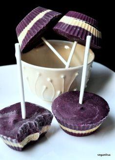 Blueberry Cardamom Dream Cream Pops - Vegan Lisa