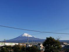 御早う御座居〼変わらぬ富士をみつつ今日も一日ご安全に #mtfuji #observation #イマフジ #定点観測