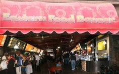 Delicious food and big portions at extremely reasonable prices at the Eastern Food Bazaar in Cape Town Cape Town, South Africa, Yummy Food, Restaurants, Dating, Big, Places, Quotes, Delicious Food