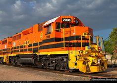 RailPictures.Net Photo: UTAH 2008 Utah Railway Company EMD GP38-3 at Midvale, Utah by James Belmont