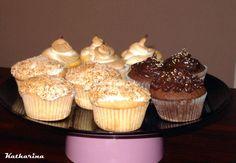 Dreierlei Cupcakes: Kokos, Lemon Meringue und Schokolade   Katharina kocht