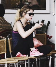 Ashley Benson is gorgeous even when she's wearing workout clothes