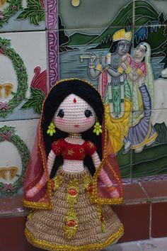 Doll Amigurumi Free Pattern, Crochet Square Patterns, Crochet Amigurumi Free Patterns, Crochet Doll Pattern, Amigurumi Doll, Crochet Stitches, Crochet Skull, Crochet Baby Toys, Asian Doll