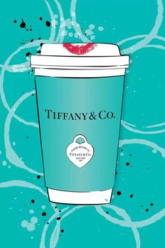 Tiffany Art, Azul Tiffany, Tiffany And Co, Canvas Artwork, Canvas Art Prints, Canvas Wall Art, Tiffany Blue Wallpapers, Chanel Wall Art, Fashion Wall Art