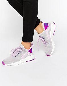 6892f301ebaa Image 1 of Nike Bleached Lilac Air Huarache Run Trainers. Cool Trainers