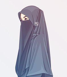 Islamic Wallpaper, Of Wallpaper, Girl Cartoon, Cartoon Art, Caricature, Tmblr Girl, Hijab Drawing, Islamic Cartoon, Anime Muslim
