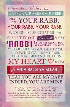 My Rabb