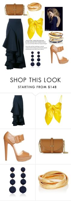 """""""Optimistic"""" by marifimarina ❤ liked on Polyvore featuring Awake, Christian Louboutin, Le Parmentier, Rebecca de Ravenel, Sidney Garber and SPINELLI KILCOLLIN"""