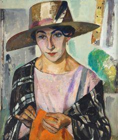 Tora Vega Holmström 1880-1967 Mademoiselle Leah