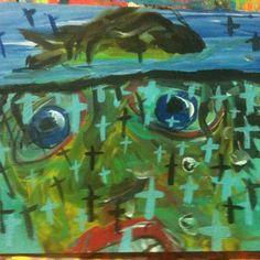 #gregggriffin #pop #art #modern #water#painting
