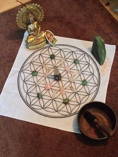 "Sacred geometry Flower of life MEGA 22"" Crystal Grid cloth bandana  Sacred Geometry 100% cotton free ship in the USA by crystalpearlboutique on Etsy https://www.etsy.com/listing/206118120/sacred-geometry-flower-of-life-mega-22"