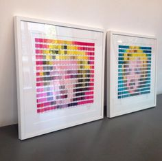 Pantone boards by Nick Smith, pick a colour any colour