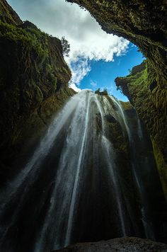 Glufrafoss - Hidden Waterfall by Alexander Jikharev on 500px