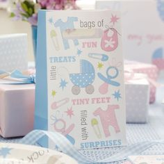 A Pack Of Tiny Feet Favour/party Bags