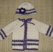 You have to see Crochet Baby Dress by ChrisCreations!