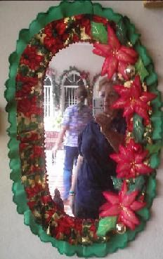 1000 images about espejos decorados on pinterest for Imagenes de espejos decorados