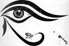 eye of horus tattoo | tattoos i guess it s the eye of horus i wonder why it s so popular