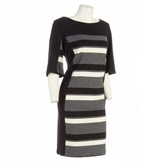 Awesome Stripe Blocked Dress Plus Dresses Plus Women Burlington Coat Factory