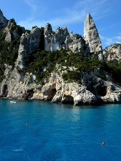Cala Goloritze is also known for its arch, which you might enjoy swimming to, and for its 127 metre high needle rock - Orosei Gulf Sardinia