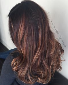 """Perfect Balayage + Big Waves = ❤️❤️❤️ #hairstylist #haircolorist #ocalahair #ocalahairstylist #highlights #longhair #color #haircut #style #nofilter…"""